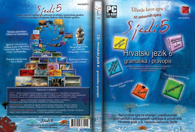 Edukativne igre Hrvatski jezik 6