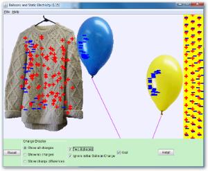 Balon i statički elektricitet