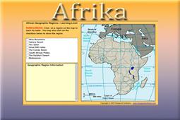Igra afričke georegije