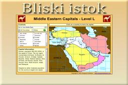 Igra bliskoistočni glavni gradovi