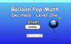 Igre : decimalni baloni