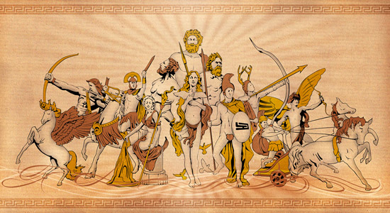 Grčka mitologija – koliko ju poznaješ?