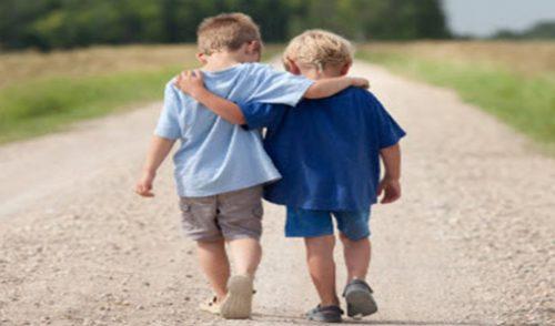 Prijateljstvo pokazujem…