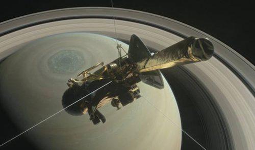 Cassini – posljednji let