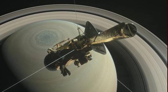 Letjelica Cassini - posljednji let