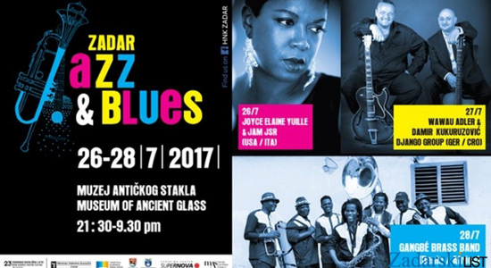 Zadar Jazz & Blues festival 2017.