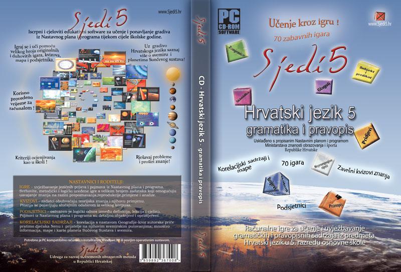 Edukativni CD Hrvatski jezik 5