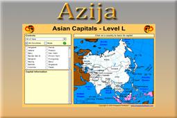 Igra azijski glavni gradovi