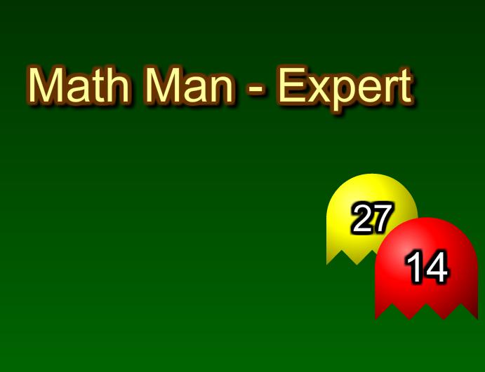 Igre :  matematički packman