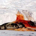 Neobični slapovi Antarktike