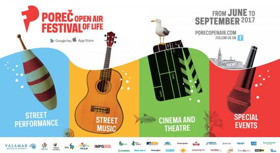 Poreč Open Air Festival 2017.