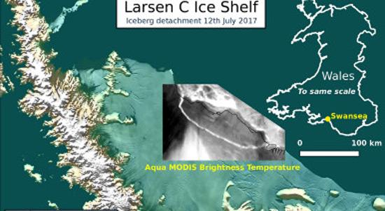 Odvajanje ledenjaka