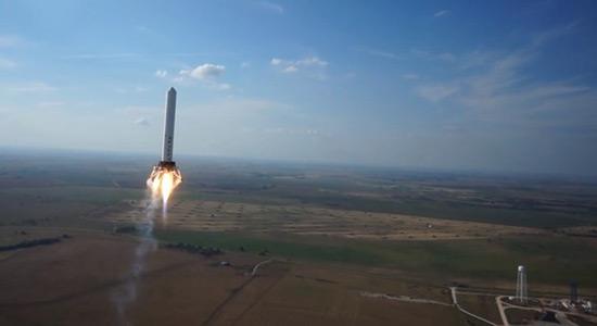 Lansiranje rakete iz zraka i vode