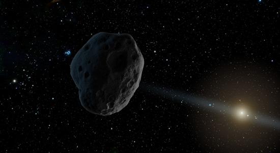 Tajanstveni asteroid u Sunčevom sustavu