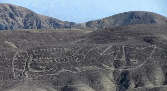 Ponovno pronađeni geoglif u Peruu