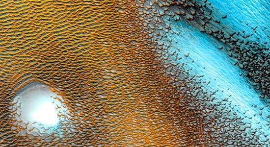 Na Marsu otkrivene velike količine ledene vode