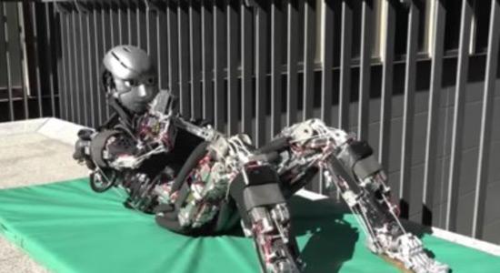 Robot koji se znoji prilikom vježbanja