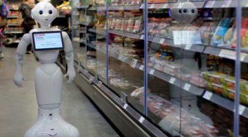 Robot zaposlen u supermarketu dobio otkaz
