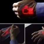 Elektronska koža sa zaslonom