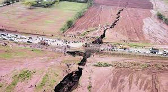 Ogromna pukotina u Keniji