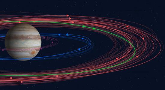 Otkriveno novih 12 mjeseca oko Jupitera