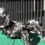 Robot koji se znoji tijekom vježbanja
