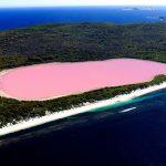 Ružičasto jezero Hillier